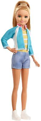 Barbie Dreamhouse Adventures Stacie Doll, Approx. 9-Inch, Blonde in Denim Sho...