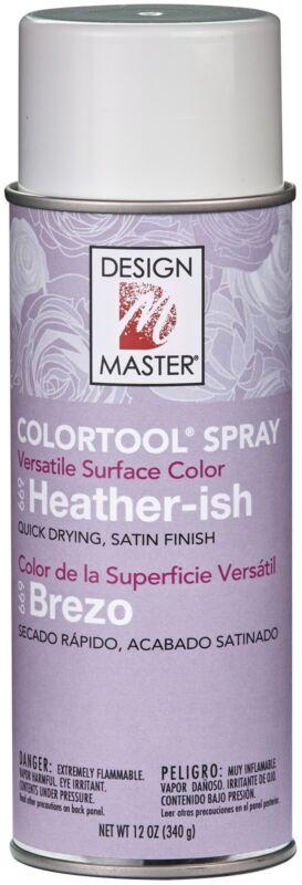 Design Master Colortool Spray Paint 12oz-Heather-Ish, Lavendar