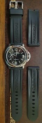 Panerai PAM111 OP6567 Watch Stainless Steel- F Serial Number 2003 Painted Dial