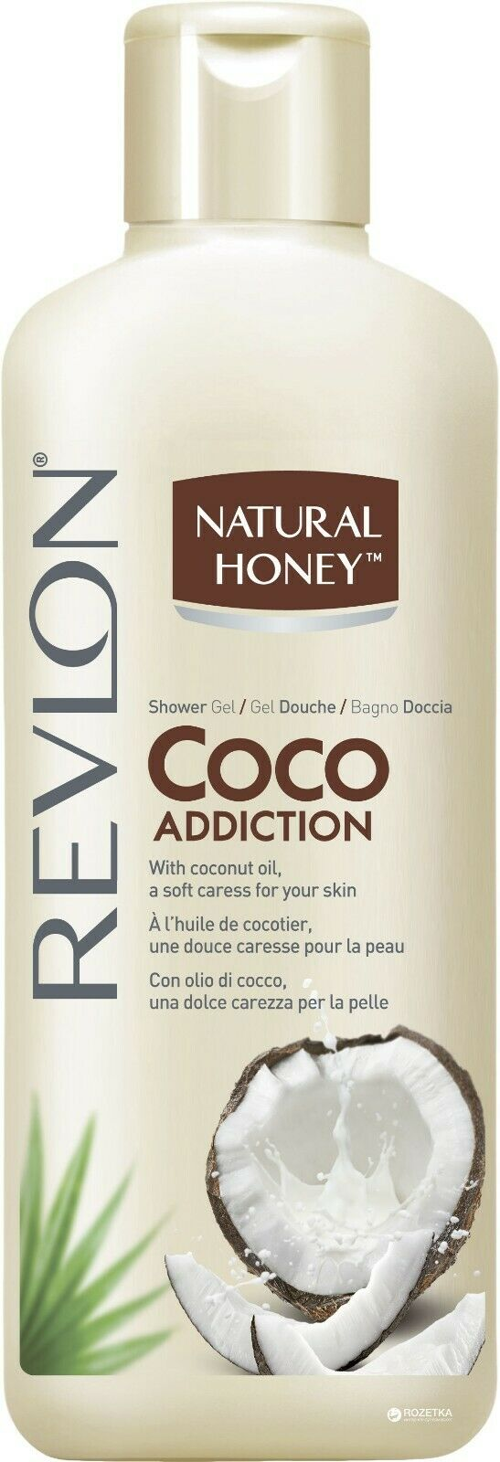 Revlon Natural Honey Coco Addition Shower Gel With Coconut Oil - 650ml