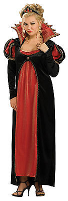 Scarlet Vamptessa Gothic Vampire Dress Up Halloween Plus Size Adult Costume (Gothic Halloween Costumes Plus Size)