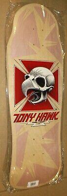 "POWELL PERALTA TONY HAWK ""SKULL"" SKATEBOARD DECK REISSUE NATURAL SERIES 11 RARE"