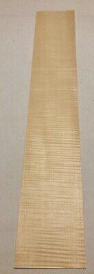 Curly Maple Wood Veneer 3 Sheets 29 X 5 3 Sqft