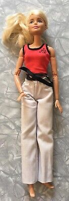 "Barbie Made to Move ""Martial Artist"" Articulated Doll Posable Karate MMA Judo"