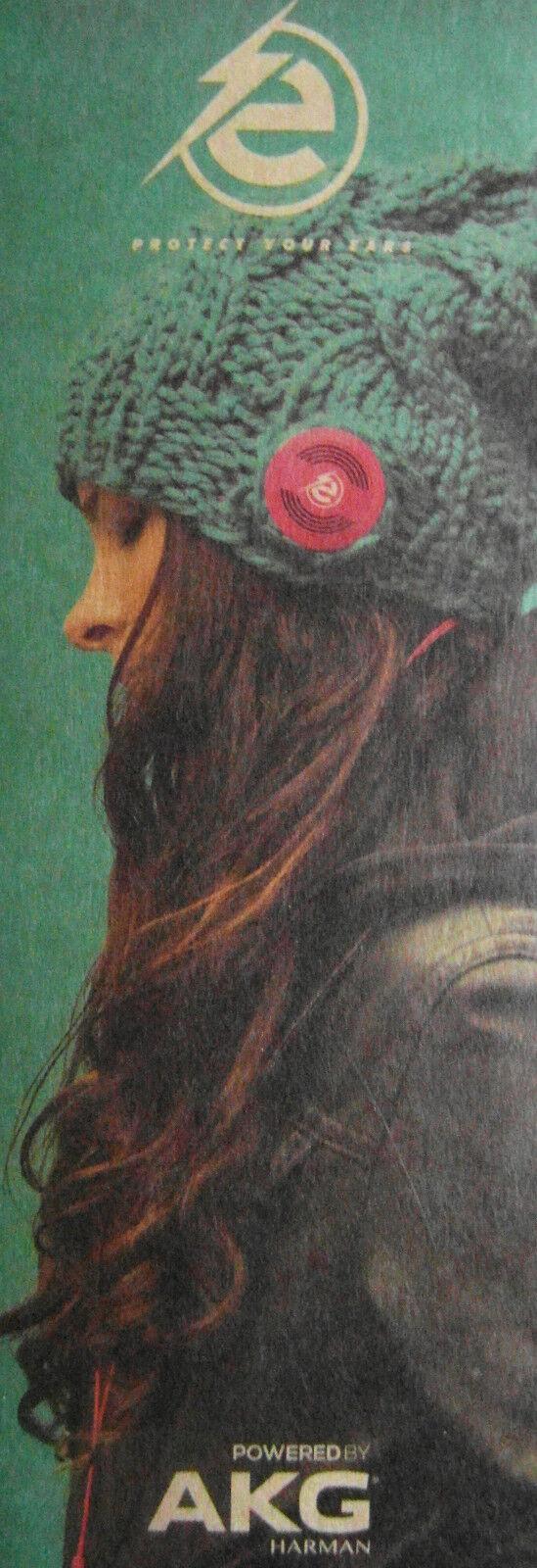 Earebel Beanie Mütze Wolle mit integrierten Kopfhörer verschiedene Farben Neu