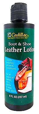 LEATHER LOTION Boots Shoes CARE Cream CLEANer CONDITIONer Reptile Snake CADILLAC