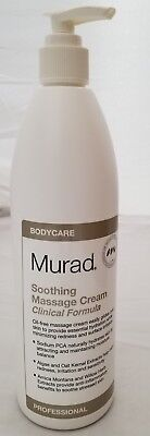 Oil Free Massage Cream - Murad Soothing Massage Cream Clinical Formula, Pro Size 16.9 fl oz with Pump