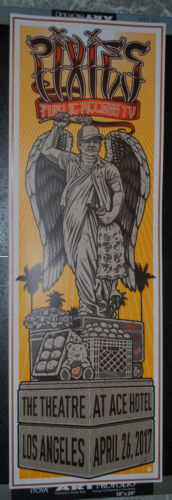 Pixies Los Angeles 2017 concert poster #/175 Frank Black art print Neal Williams