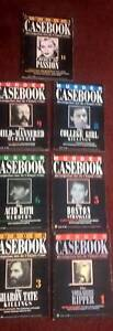 7 x Murder Casebooks from UK Shellharbour Shellharbour Area Preview