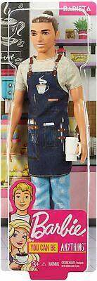 Barbie Ken Barista Doll