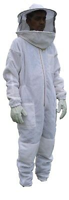 Xs Ventilated Bee Suit Body Comfort 3layer Mesh Vented Beekeeper Round Hood Suit