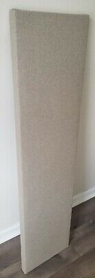 4 Narrow Sound Absorbing Acoustic Wall Panels