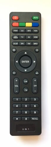 New Usbrmt 6 In 1 Universal Remote For Pioneer Viore Polaroid Rca Vios Speler Tv
