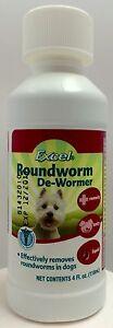 Eight In One Excel Roundworm Dog Puppy De-Wormer Breeder 4 fl oz Liquid 8 in 1