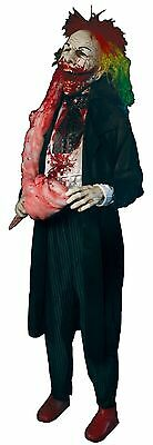 Halloween LifeSize Animated BLOODY SWEET CLOWN FRIGHTRONICS Prop Haunted House