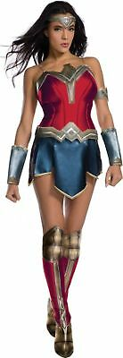 DC Justice League 2017 Wonder Woman Movie Costume Adult Women's Diana XS-LG New - Costumes For Womens 2017