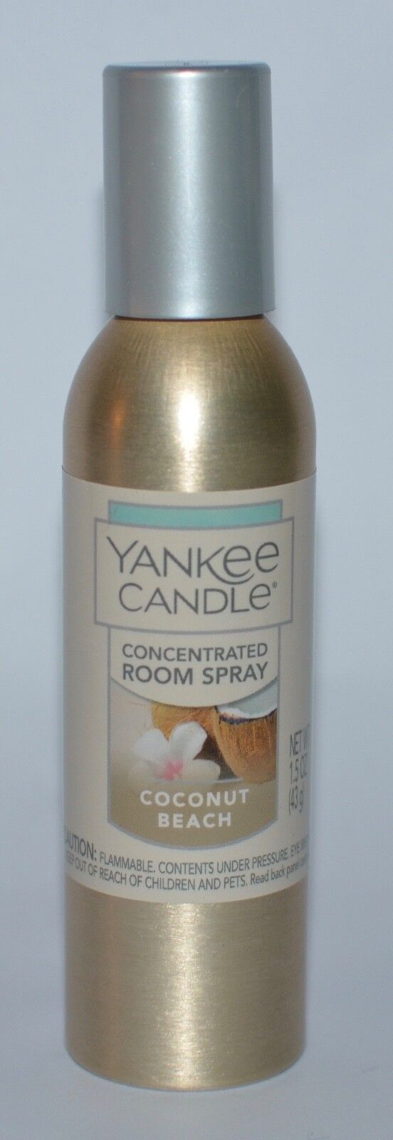Yankee Candle Coconut Beach Concentrated Room Spray, Fresh S