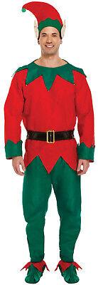 Herren Elf Kostüm XL Santas Helfer Christmas Weihnachten XMAS Fasching Fest
