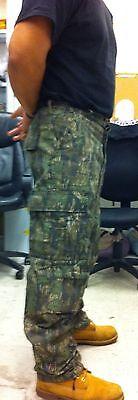 SMOKEY BRANCH Camo Cargo Pants BDU Military Army Marines Fis