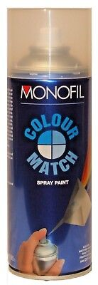 COLOURMATCH Spray Paint Aerosols Any Colour Mixed to Order 400ml