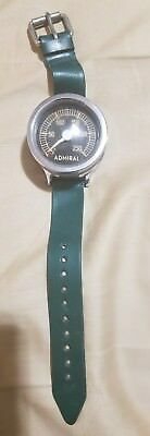 Antique Admiral Wrist Mount Depth Gauge for Scuba Diving Made in West Germany