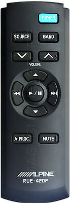 Alpine Cde Hd149bt Cdehd149bt Genuine Rue 4202 Remote  Pay Today Ships Today