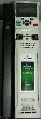 Emerson Control Techniques Unidrive M700 Invertor M700-044-00150 A Works Great