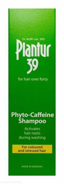 Plantur 39 Phyto Caffeine Shampoo For Coloured & Stressed Hair 250ml