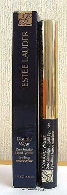 Estee Lauder Double Wear Zero Smudge Liquid Eyeliner In Black - Bnib