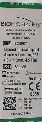 Biohorizons Dental Implants 4.6 X 7.5 Mm 4.5 Platform Tlx4607