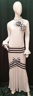 Kostüm Englische Dame - Gold Line weiblich von Atosa Größe - Englisch Kostüm