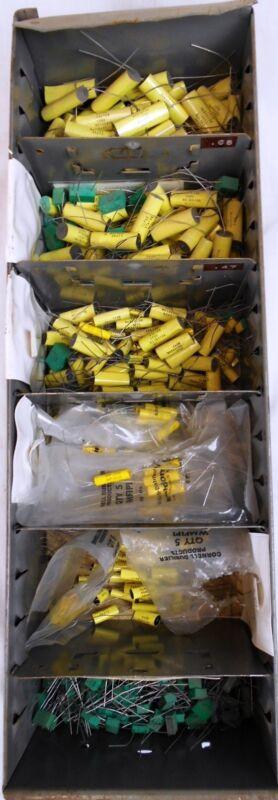 Bin of Vintage Capacitors: Elpac NOS (Lot 5)