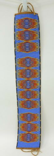 Shoshone-Bannock, Mid 20th Century; Beaded Belt