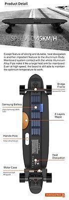 2000 Watt Boosted Electric Longboard Duel Motors Fast Long Distance Make Offer!!