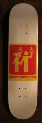 Hook-Ups Deck Subway Pervert Limited Edition Hook-Ups Skateboard Jeremy Klein