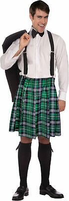 Naughty Adult Men's Costume Colorful Plaid Kilt Halloween Forum - Naughty Mens Halloween Costumes Adults