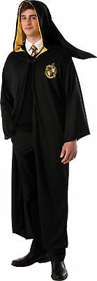 Hufflepuff Robe Adult Mens Costume Harry Potter Character Theme Party Halloween - Harry Potter Character Costume