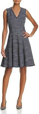 Rebecca Taylor Fray-Trimmed Tweed Dress MSRP $495 Size 6 # 20B 353 NEW