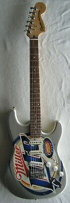 Miller Lite Promotional Guitar Squire Fender Stratocaster  Electric