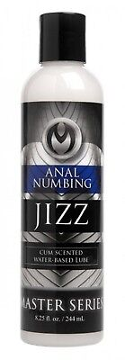 Master Series J*zz Anal Desensitizing Lube 8 Oz, Adult Couple Kinky Bedroom Play for sale  Shipping to Canada