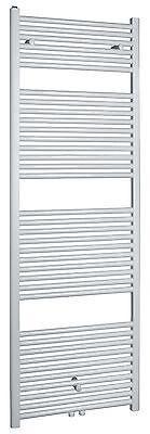 Radiateur sèche-serviettes Sanifun Medina Centro 76,4 x 60 Blanc.