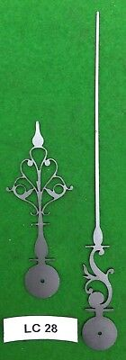 Antique clock hands from original design (Early Longcase) LC28 *Made in England*