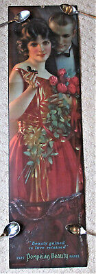 ORIGINAL1925 DATED ART DECO POMPEIAN BEAUTY PRINT  695 MM X 190 MM  STILL ROLLED
