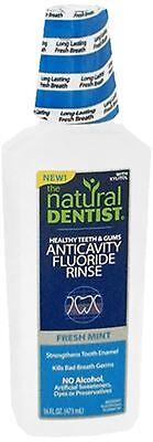 The Natural Dentist Healthy Teeth Anti-Cavity Fluoride Rinse Fresh Mint 16.9oz - Healthy Teeth Rinse