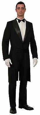New Black Formal Tuxedo Tailcoat One Size by Forum 73274  Costumania (Black Tuxedo Costume)