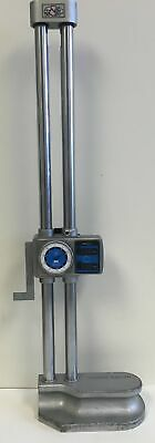 Mitutoyo 192-151 Dial Height Gage With Digital Counter 0-18 Range .001