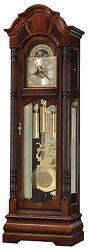 Howard Miller 611-188(611188)Winterhalder Grandfather Floor Clock-Windsor Cherry