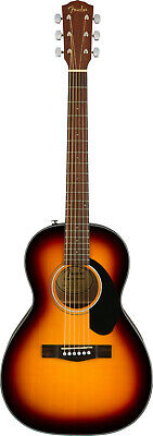 Fender 0970120032 CP-60S Parlor Acoustic Guitar, Sunburst