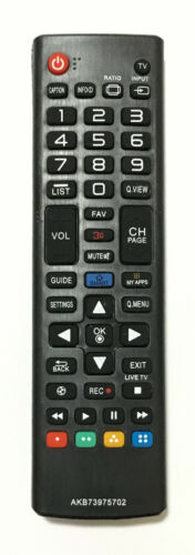 New Akb73975702 Replaced Tv Remote Control For Lg Led Smart Tv Sub Akb74475401