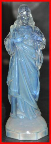 Sabino Opalescent Glass Figure Model Christ Sacred Heart - Made for Etling